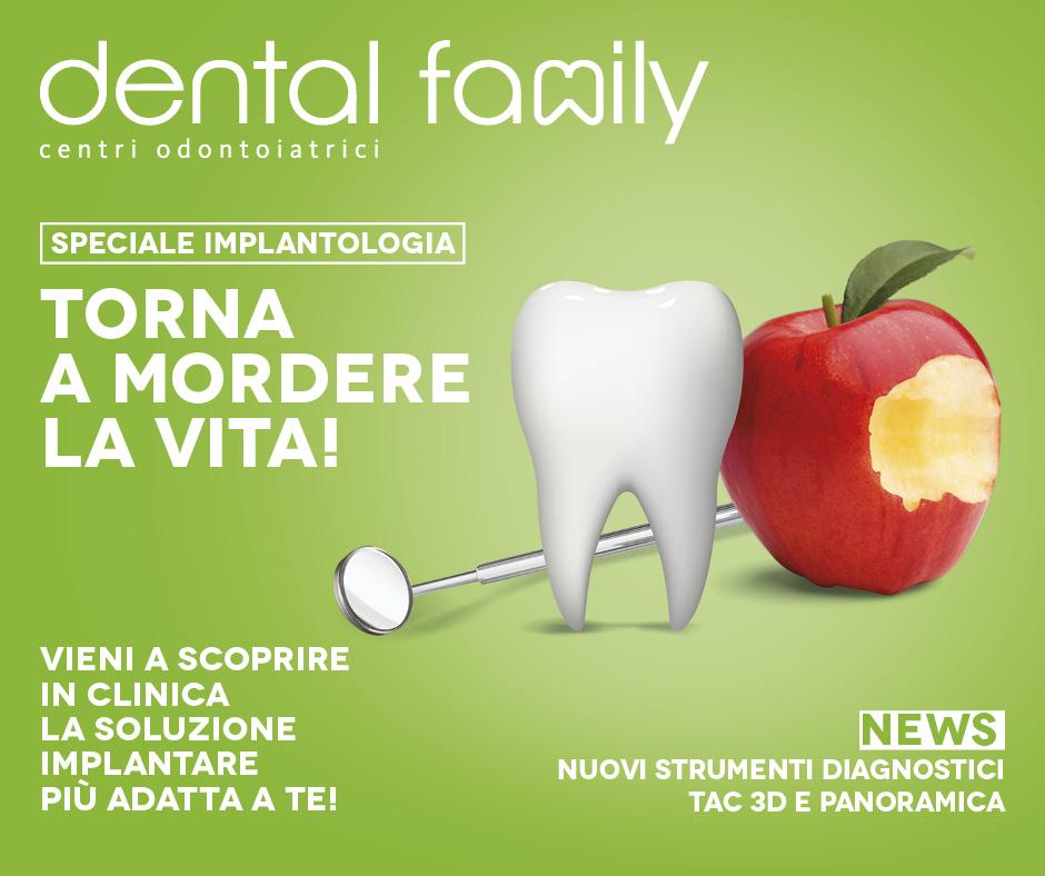 Speciale implantologia – Torna a mordere la vita! Dental Family Rimini
